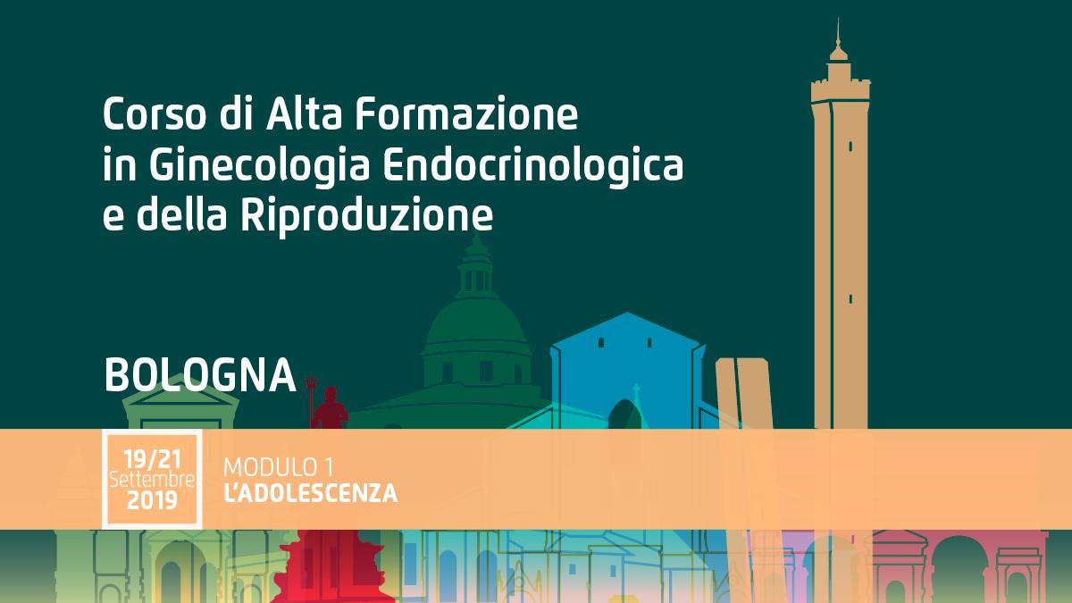 """Corso Ginecologia Endocrinologica • Modulo 1 """"L'adolescenza"""""""