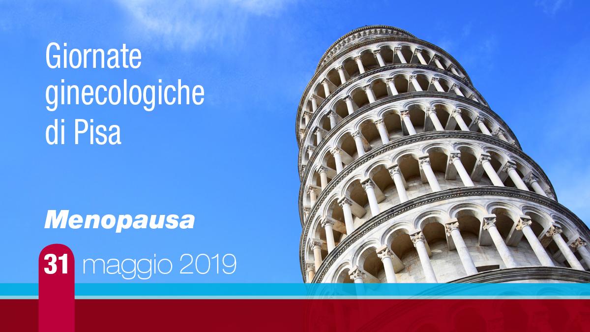 """Giornate Ginecologiche di Pisa """"Menopausa"""""""