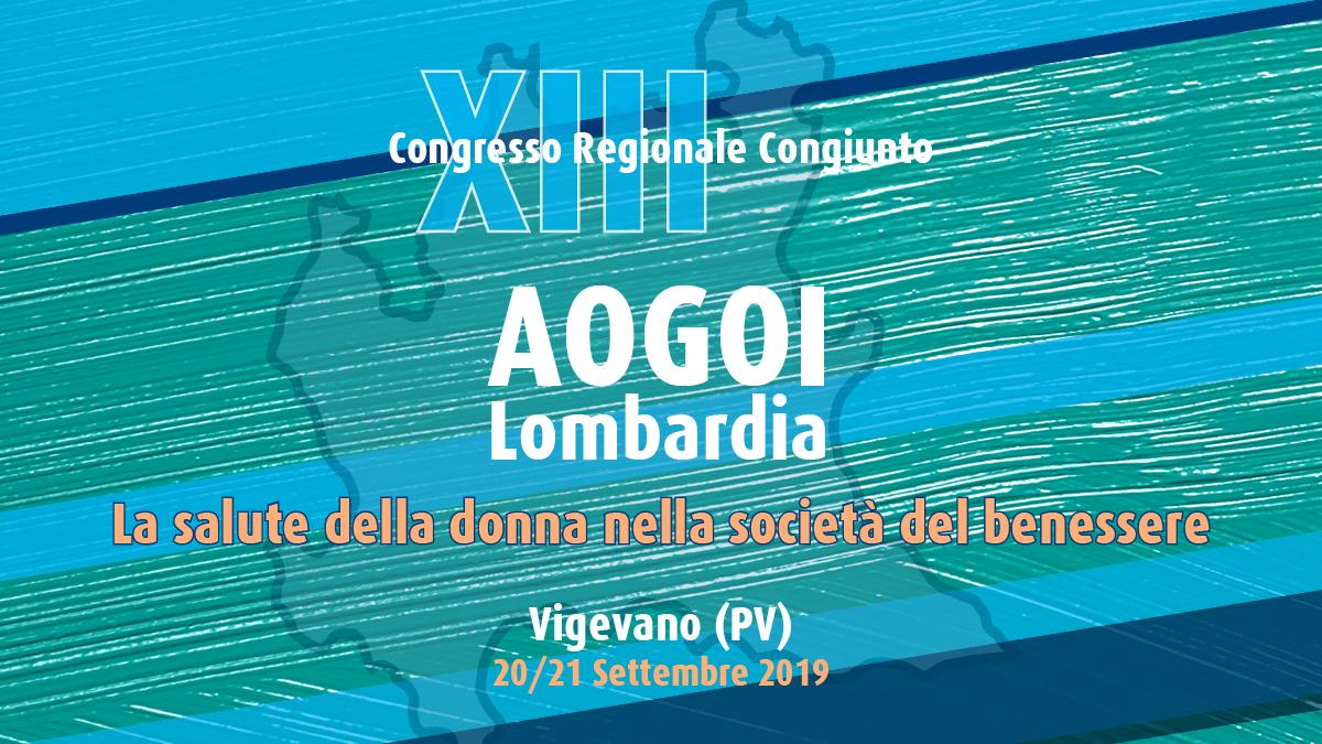 XIII Congresso Regionale Congiunto AOGOI Lombardia – La salute della donna nella società del benessere