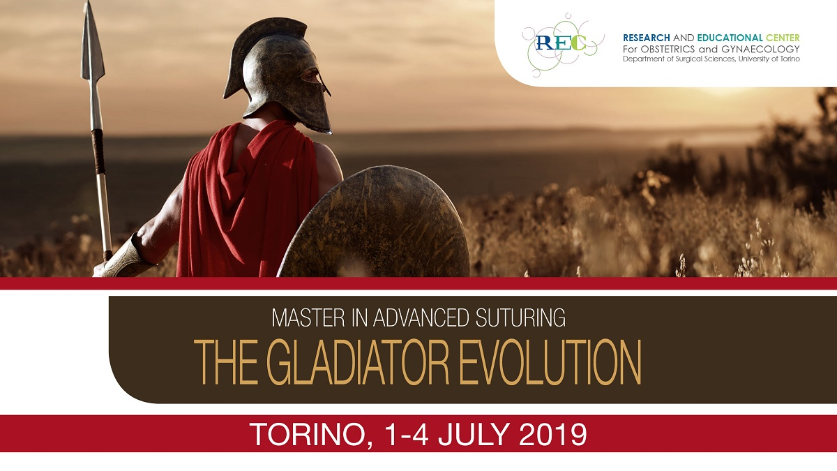 MASTER IN ADVANCED SUTURING THE GLADIATOR EVOLUTION