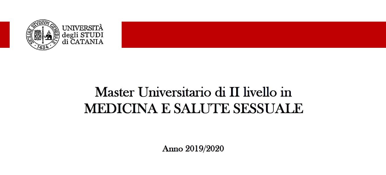 Master Universitario di II Livello in MEDICINA E SALUTE SESSUALE