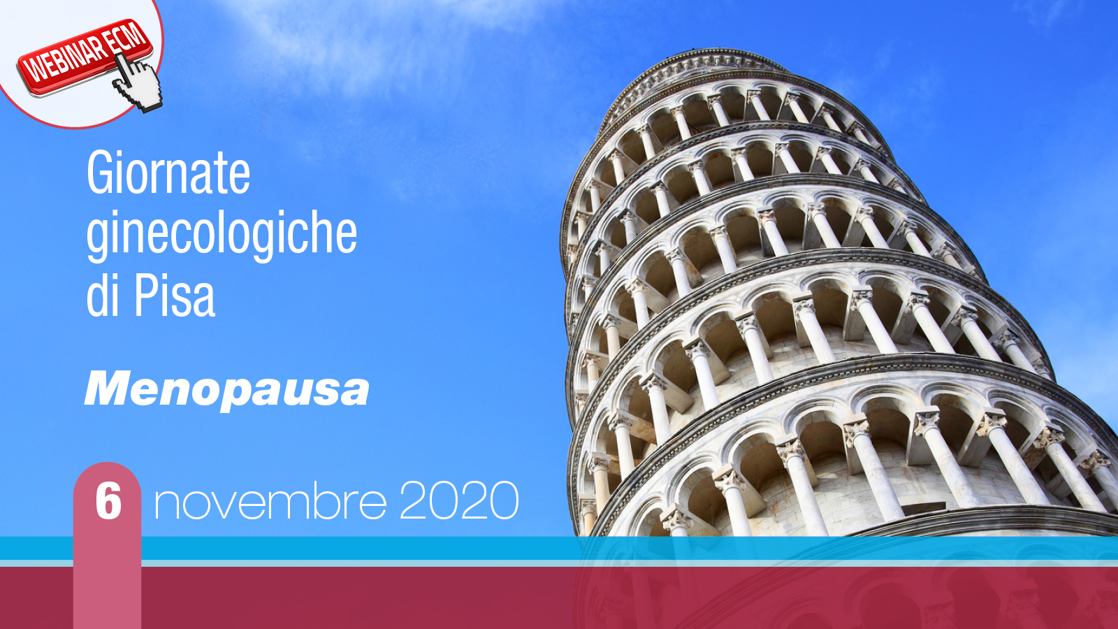 """14° Giornata ginecologica di Pisa """"Menopausa"""""""