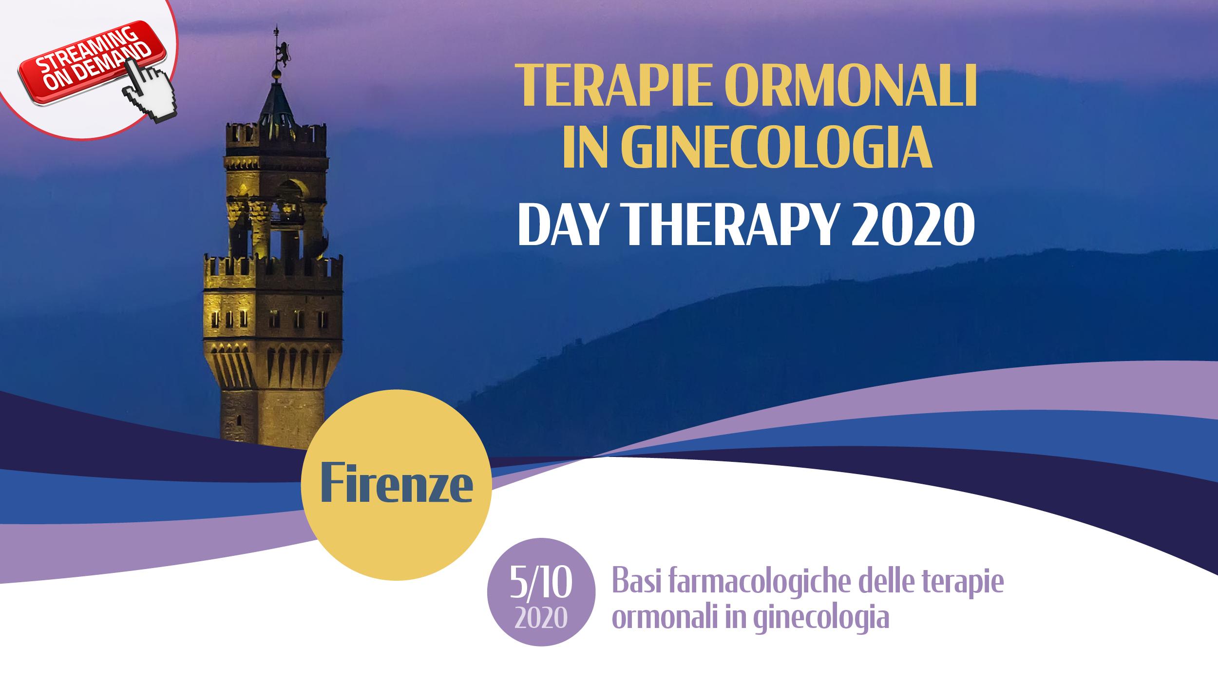 Terapie Ormonali in Ginecologia – DAY THERAPY 2020