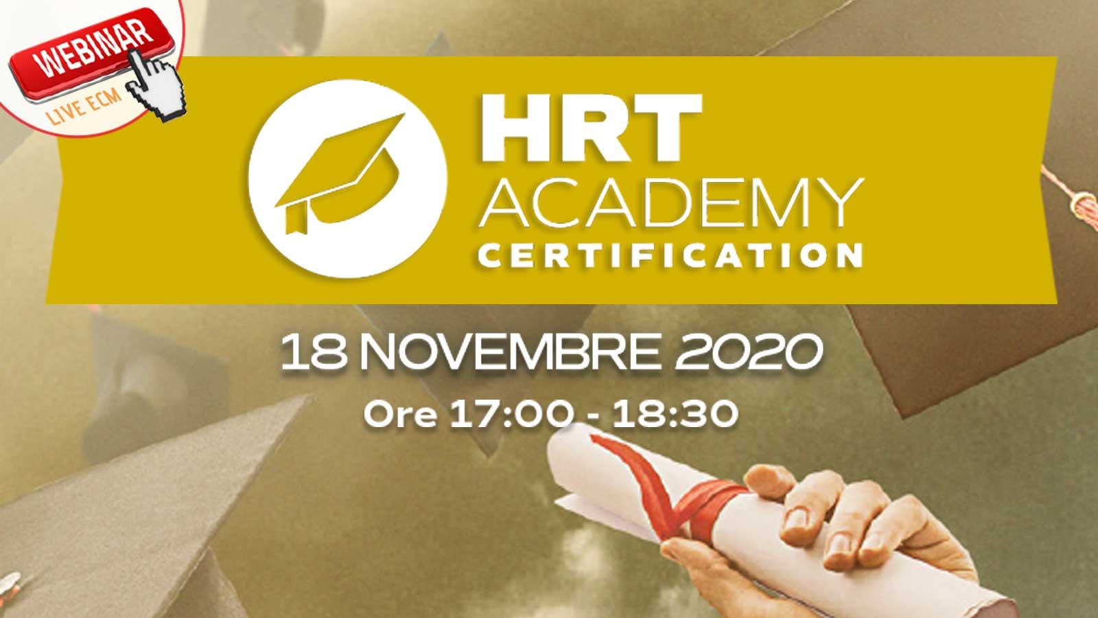 HRT academy: update 2020