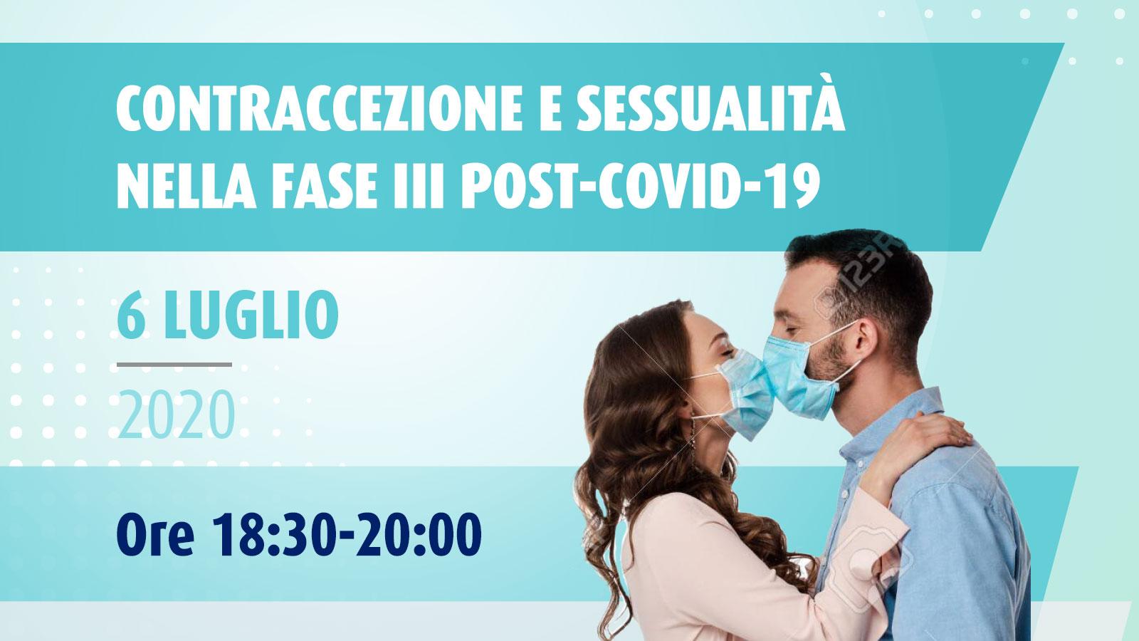 Contraccezione e sessualità nella fase III post-COVID-19