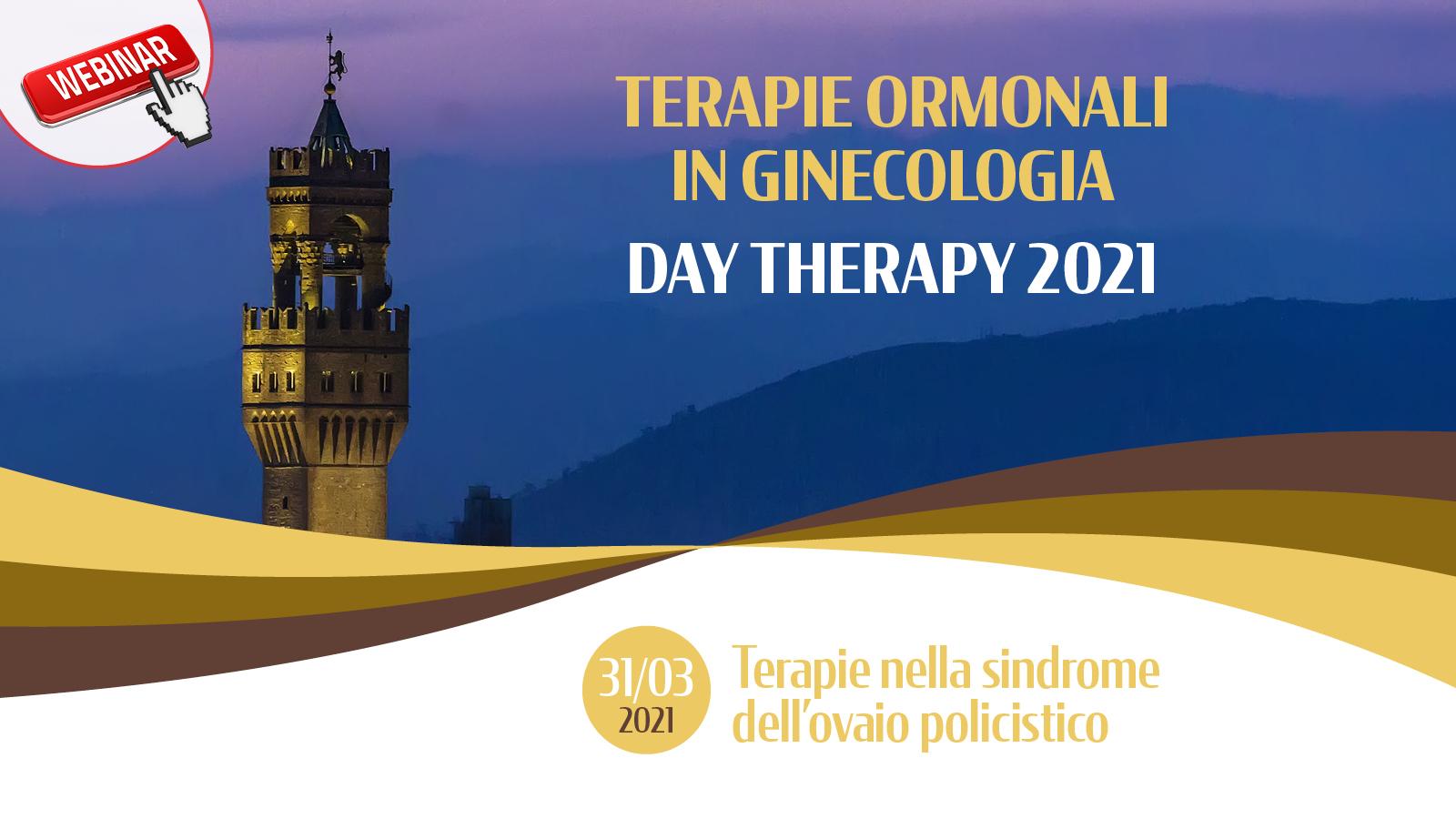 Terapie Ormonali in Ginecologia – DAY THERAPY 2021