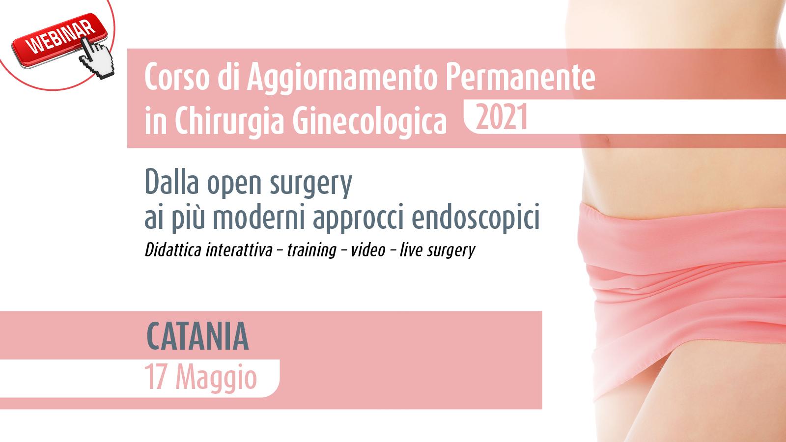 Corso di Aggiornamento Permanente in Chirurgia Ginecologica