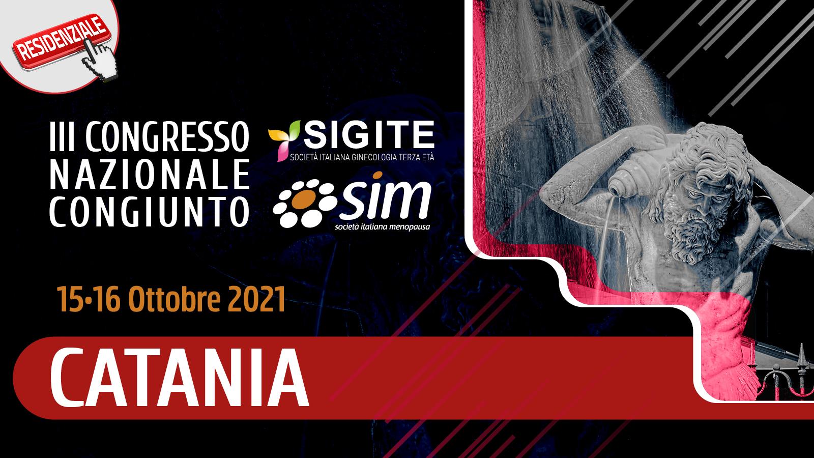 III Congresso Nazionale Congiunto SIM SIGITE