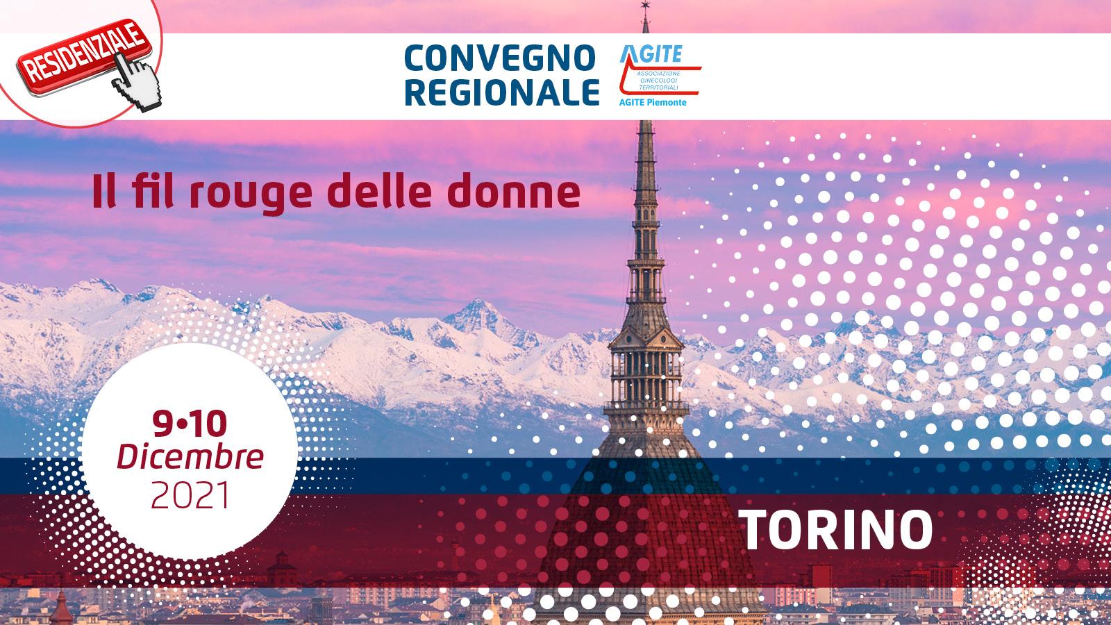 """Convegno regionale AGITE Piemonte """"Il fil rouge delle donne"""""""